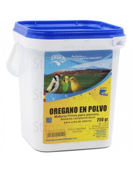 OREGANO POLVO 250GR DISFA